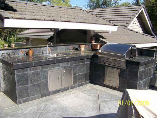 Custom Outdoor Kitchen Danville