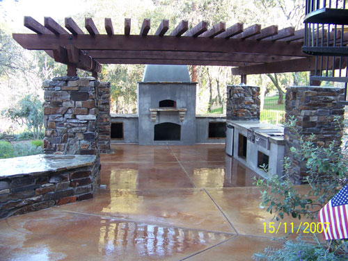 Wood Fired Oven Outdoor Kitchen Danville