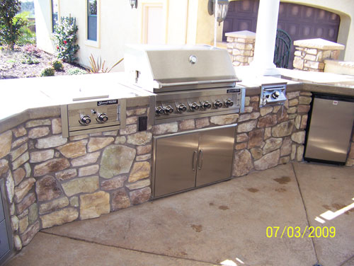 Luxury Outdoor Kitchen Project