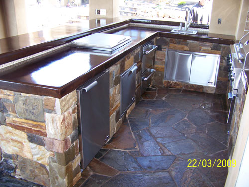 Outdoor Kitchen Stainless Steel Sink, Stainless Steel Grill