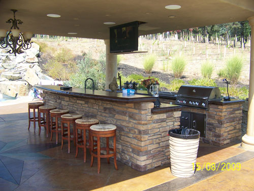 Custom Outdoor Kitchens Berkeley Ca From Simple To Luxury