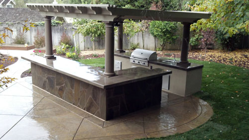 Lovely Outdoor Kitchen Project   Berkeley